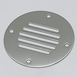 Vent Covers Thickness  040  (Requires 4 - #6 fasteners)