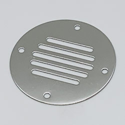 Vent Covers Thicker with a beautiful finish, Thickness .07  (Requires 4 - #6 fasteners)