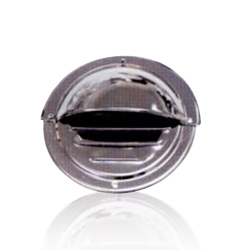 Round Louvered Vent kit (Requires 4 - #6 fasteners)