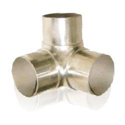 Flush elbow90°