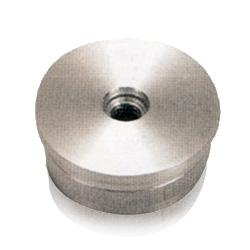 Flat end cap/hole