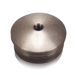 Solid arched end cap/hole